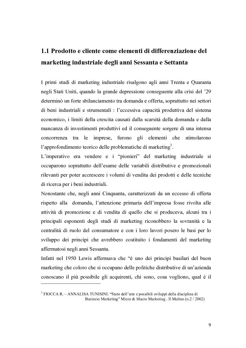 Anteprima della tesi: Le nuove frontiere del Marketing B2B, Pagina 6