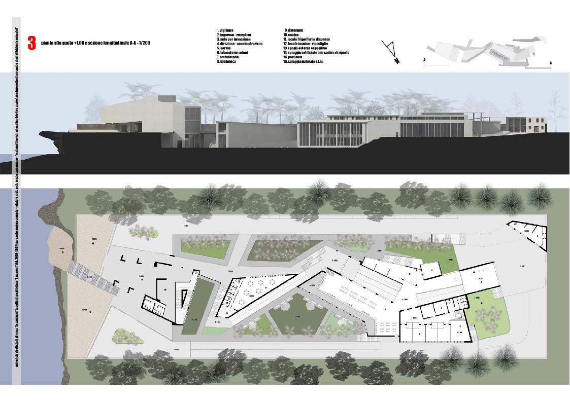Progetto di una centro scientifico di biologia animale for Strumento di progettazione di architettura online