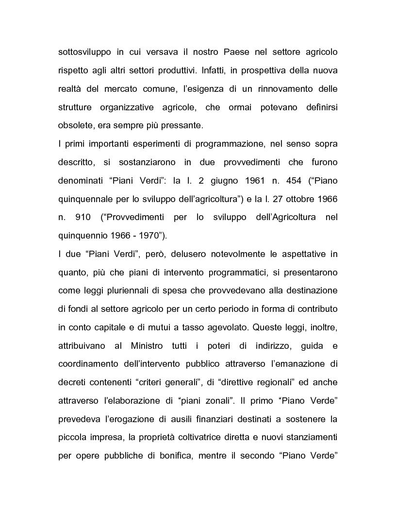 Anteprima della tesi: La regolazione amministrativa dell'agricoltura con particolare riferimento alla produzione del latte, Pagina 14