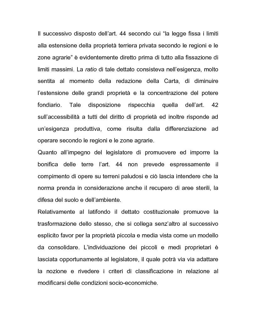 Anteprima della tesi: La regolazione amministrativa dell'agricoltura con particolare riferimento alla produzione del latte, Pagina 8