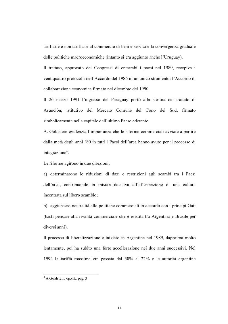 Anteprima della tesi: Argentina: opportunità per le imprese agrarie e agro-industriali, Pagina 6
