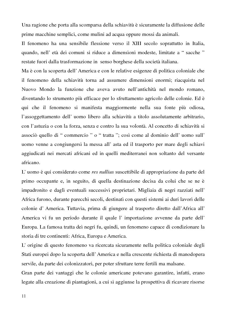 Anteprima della tesi: I delitti contro la personalità individuale, Pagina 6