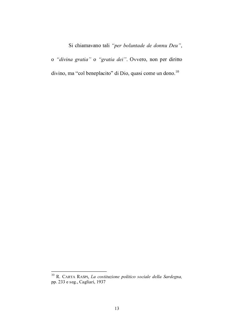 Anteprima della tesi: Istituzioni e amministrazione della giustizia nel Giudicato di Eleonora di Arborea secondo la Carta de Logu, Pagina 10