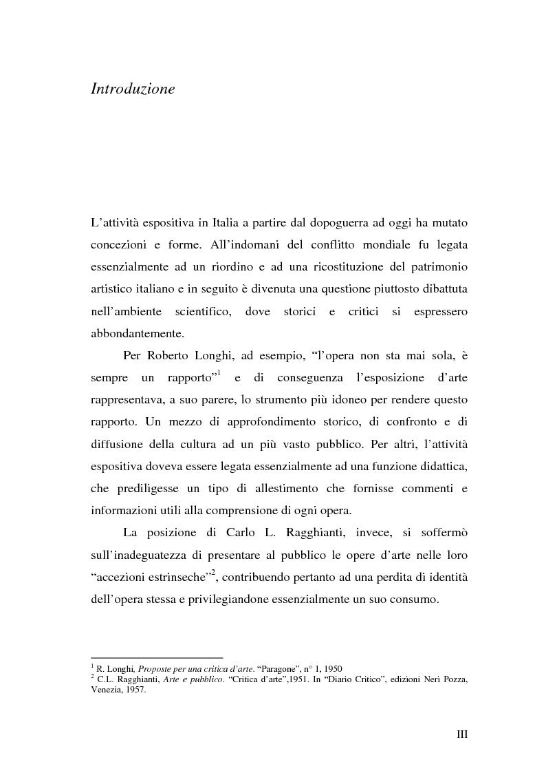 """Anteprima della tesi: Comunicare una mostra: """"Piero della Francesca e le corti italiane"""" Arezzo 22 Marzo - 31 luglio 2007, Pagina 1"""