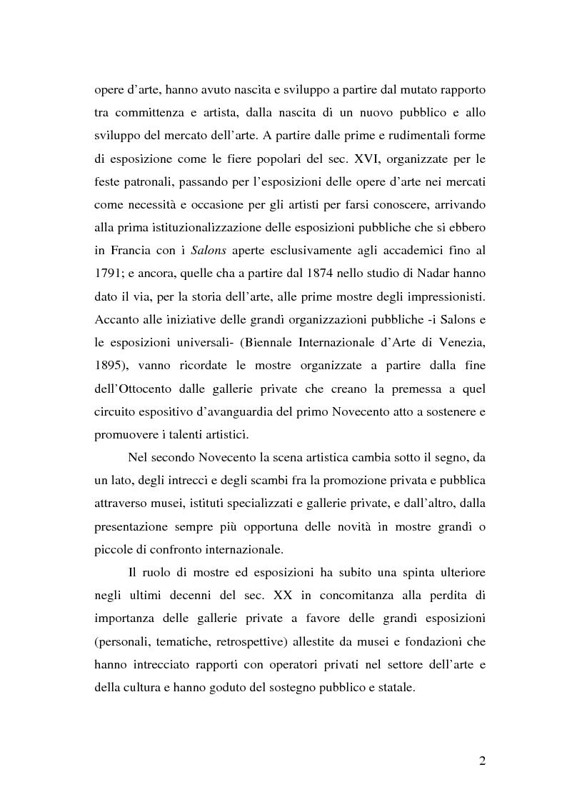 """Anteprima della tesi: Comunicare una mostra: """"Piero della Francesca e le corti italiane"""" Arezzo 22 Marzo - 31 luglio 2007, Pagina 10"""