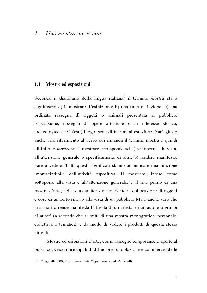 """Anteprima della tesi: Comunicare una mostra: """"Piero della Francesca e le corti italiane"""" Arezzo 22 Marzo - 31 luglio 2007, Pagina 9"""