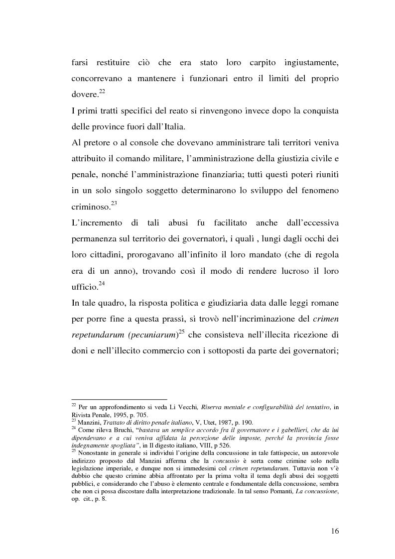 Anteprima della tesi: La concussione, Pagina 11