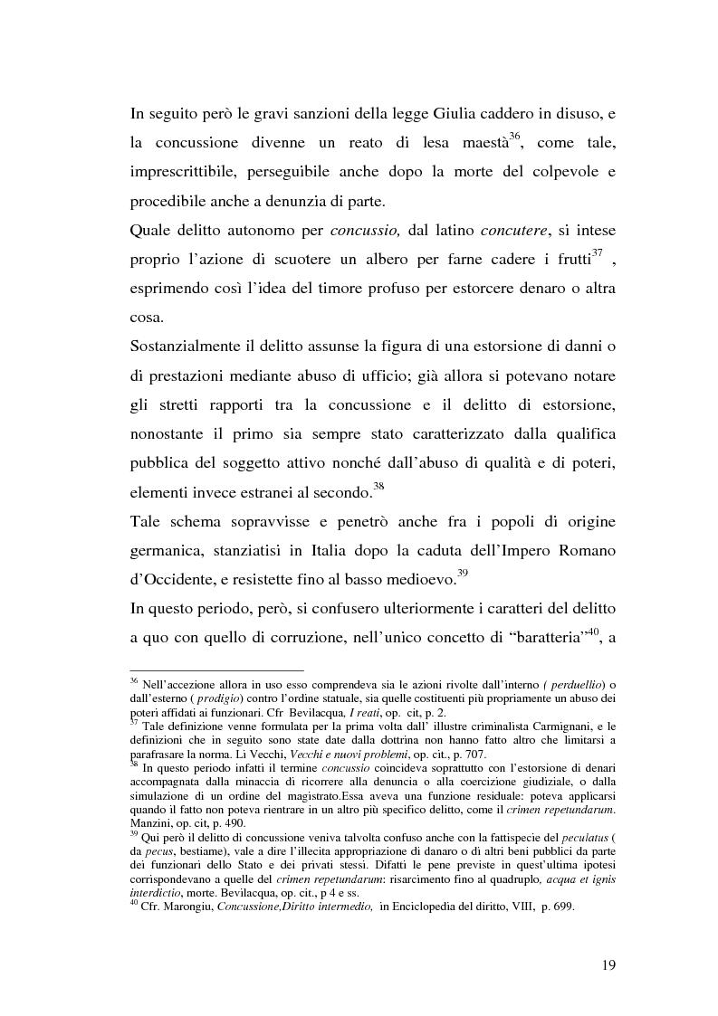 Anteprima della tesi: La concussione, Pagina 14