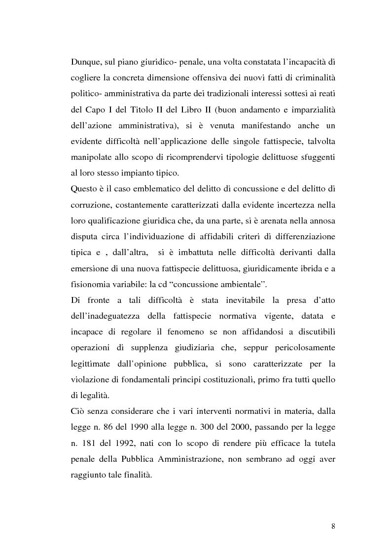 Anteprima della tesi: La concussione, Pagina 3