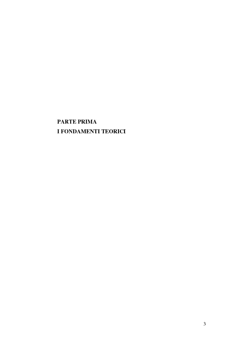 Anteprima della tesi: La comunicazione al servizio del nuovo ruolo imprenditoriale delle società professionistiche di calcio. Il caso del Bologna F.C. 1909., Pagina 3