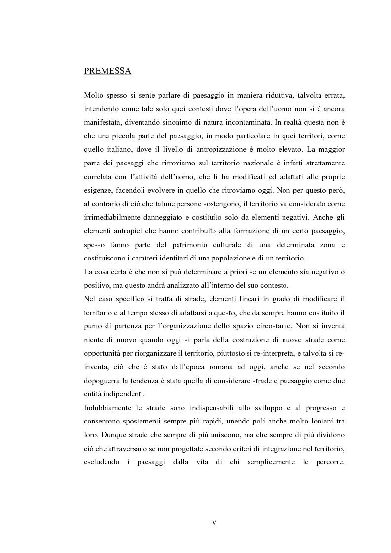 Anteprima della tesi: Nuove strade nel paesaggio - Studi di inserimento paesaggistico della circonvallazione di Carmagnola, Pagina 1