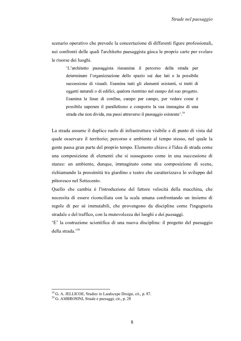 Anteprima della tesi: Nuove strade nel paesaggio - Studi di inserimento paesaggistico della circonvallazione di Carmagnola, Pagina 11