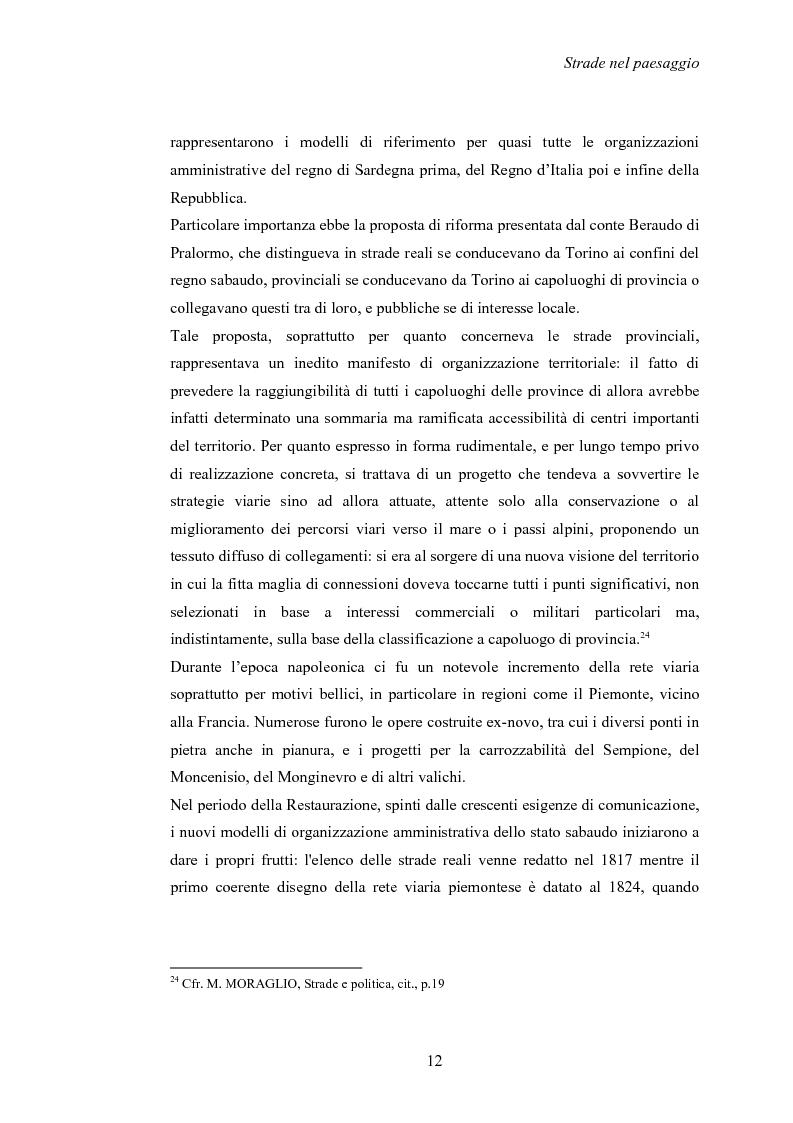 Anteprima della tesi: Nuove strade nel paesaggio - Studi di inserimento paesaggistico della circonvallazione di Carmagnola, Pagina 15