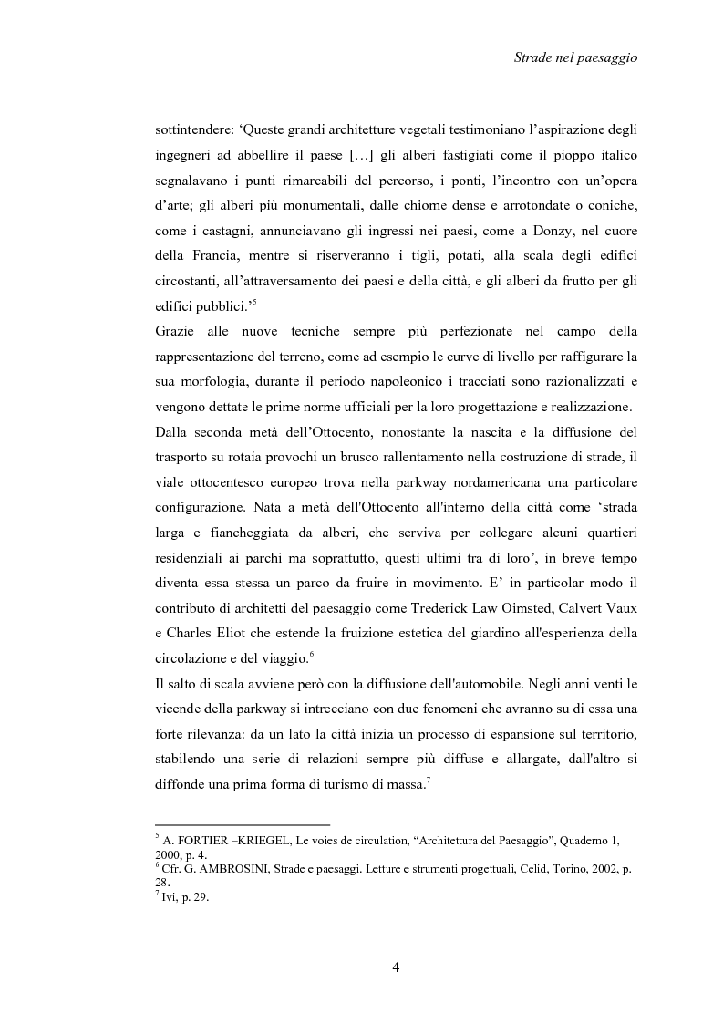 Anteprima della tesi: Nuove strade nel paesaggio - Studi di inserimento paesaggistico della circonvallazione di Carmagnola, Pagina 7