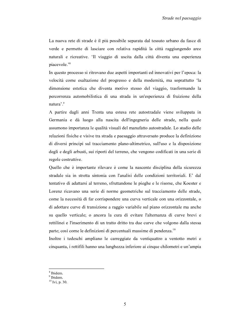 Anteprima della tesi: Nuove strade nel paesaggio - Studi di inserimento paesaggistico della circonvallazione di Carmagnola, Pagina 8