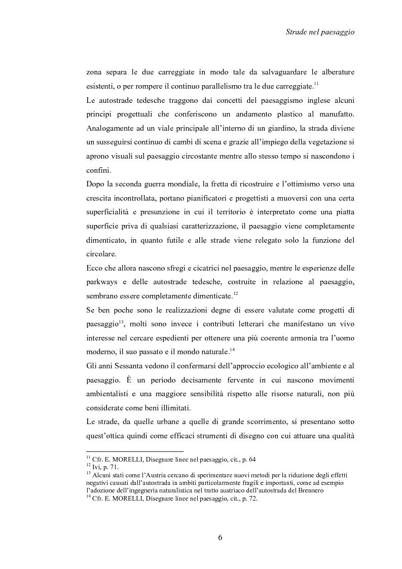 Anteprima della tesi: Nuove strade nel paesaggio - Studi di inserimento paesaggistico della circonvallazione di Carmagnola, Pagina 9