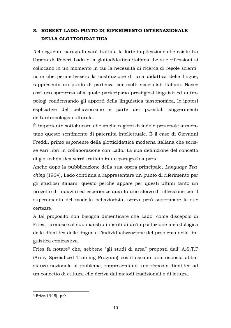 Anteprima della tesi: Il metalinguaggio di Robert Lado, Pagina 10