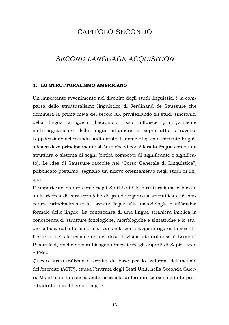 Anteprima della tesi: Il metalinguaggio di Robert Lado, Pagina 13