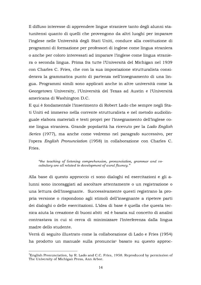 Anteprima della tesi: Il metalinguaggio di Robert Lado, Pagina 14