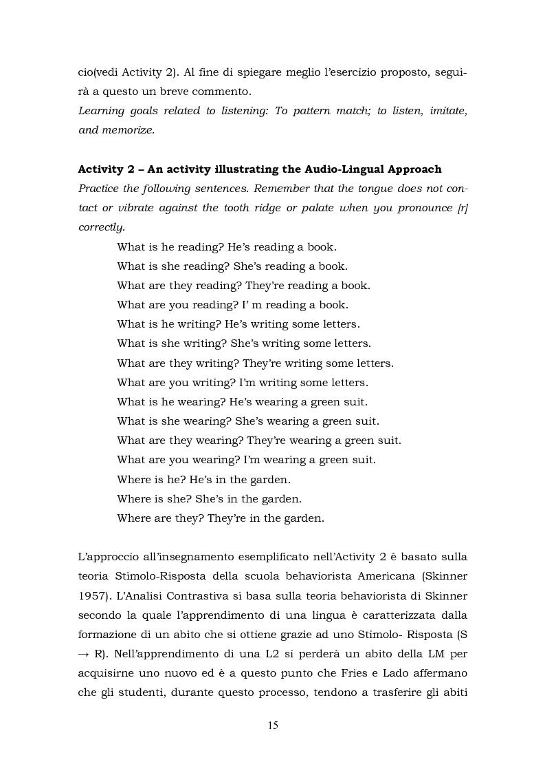 Anteprima della tesi: Il metalinguaggio di Robert Lado, Pagina 15
