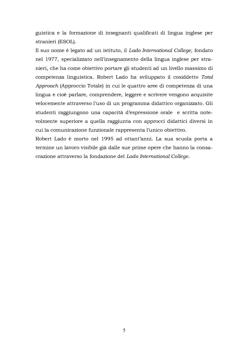 Anteprima della tesi: Il metalinguaggio di Robert Lado, Pagina 5