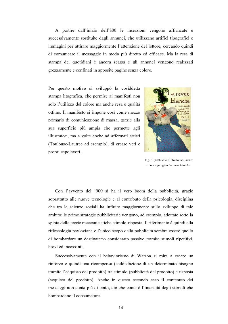 Anteprima della tesi: Analisi della comunicazione pubblicitaria delle sigarette: due marchi a confronto, Pagina 10