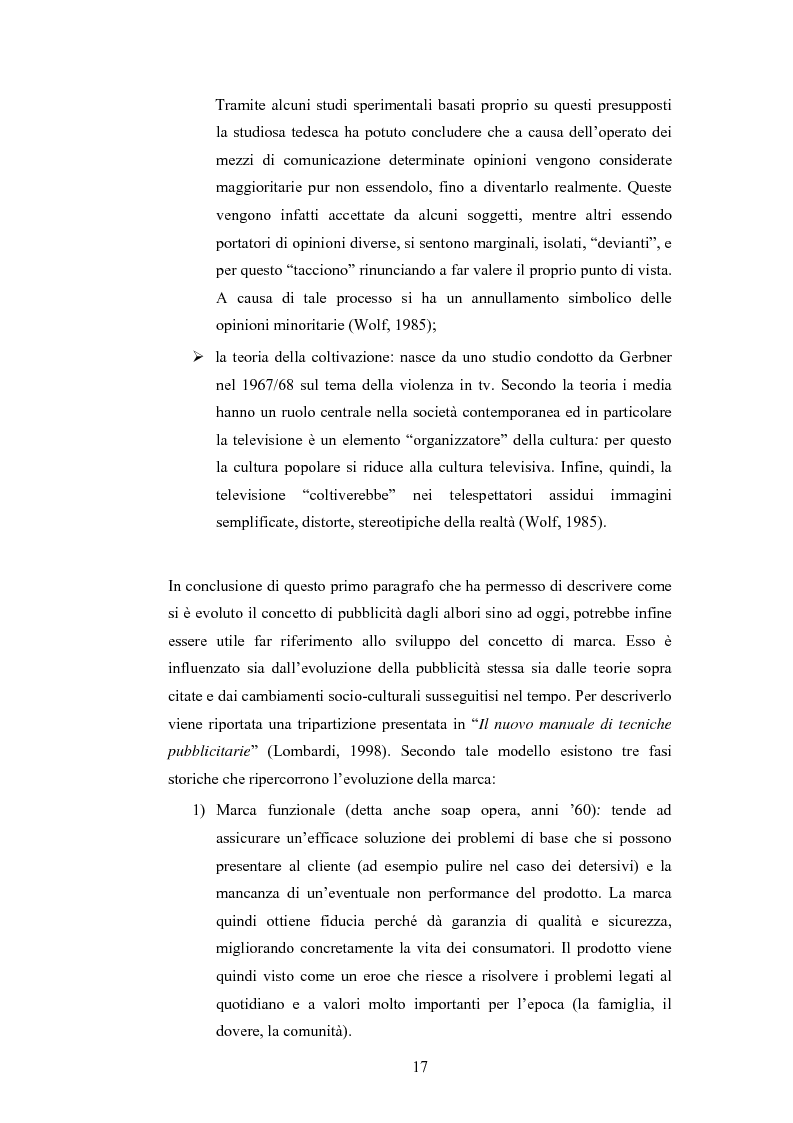 Anteprima della tesi: Analisi della comunicazione pubblicitaria delle sigarette: due marchi a confronto, Pagina 13