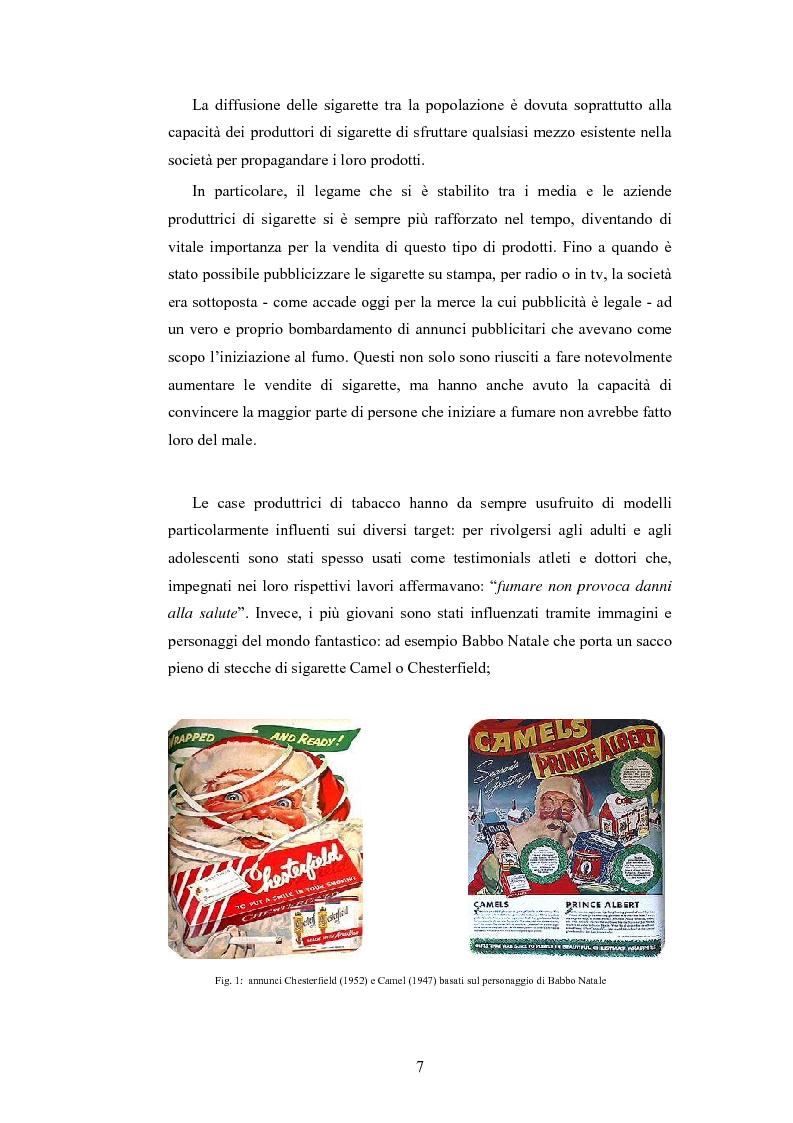 Anteprima della tesi: Analisi della comunicazione pubblicitaria delle sigarette: due marchi a confronto, Pagina 3