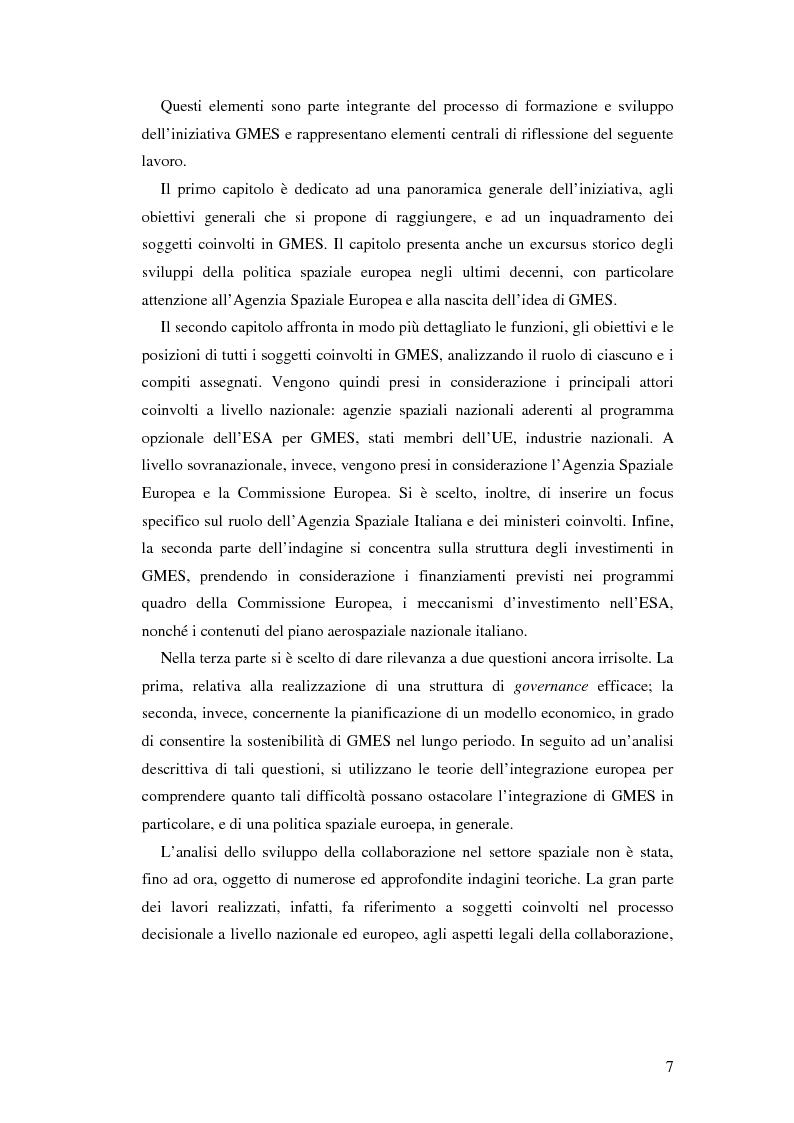 Anteprima della tesi: L'iniziativa Global Monitoring for Environment and Security (GMES), Pagina 2
