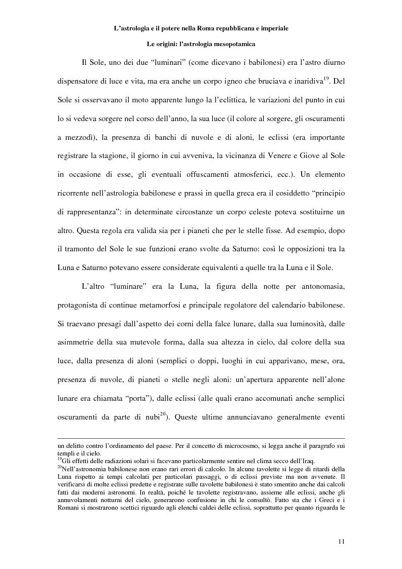 Anteprima della tesi: L'astrologia e il potere nella Roma repubblicana e imperiale, Pagina 10