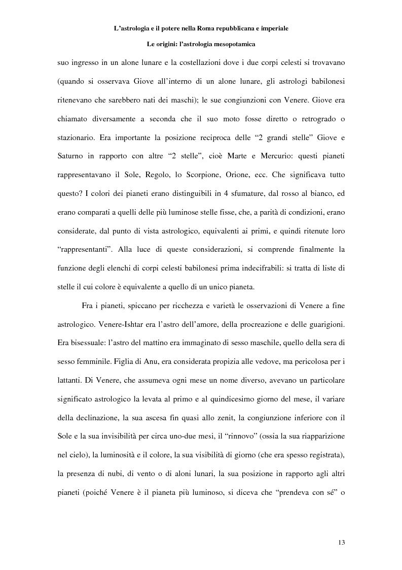 Anteprima della tesi: L'astrologia e il potere nella Roma repubblicana e imperiale, Pagina 12