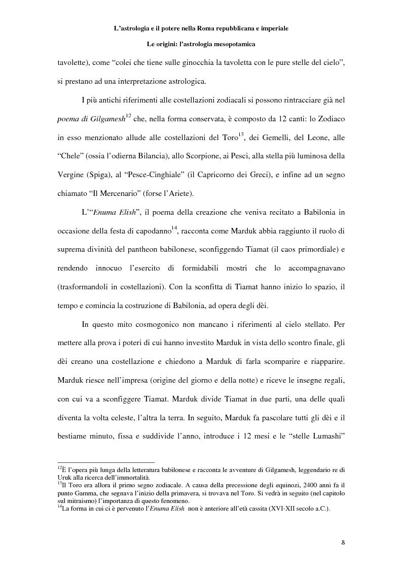 Anteprima della tesi: L'astrologia e il potere nella Roma repubblicana e imperiale, Pagina 7