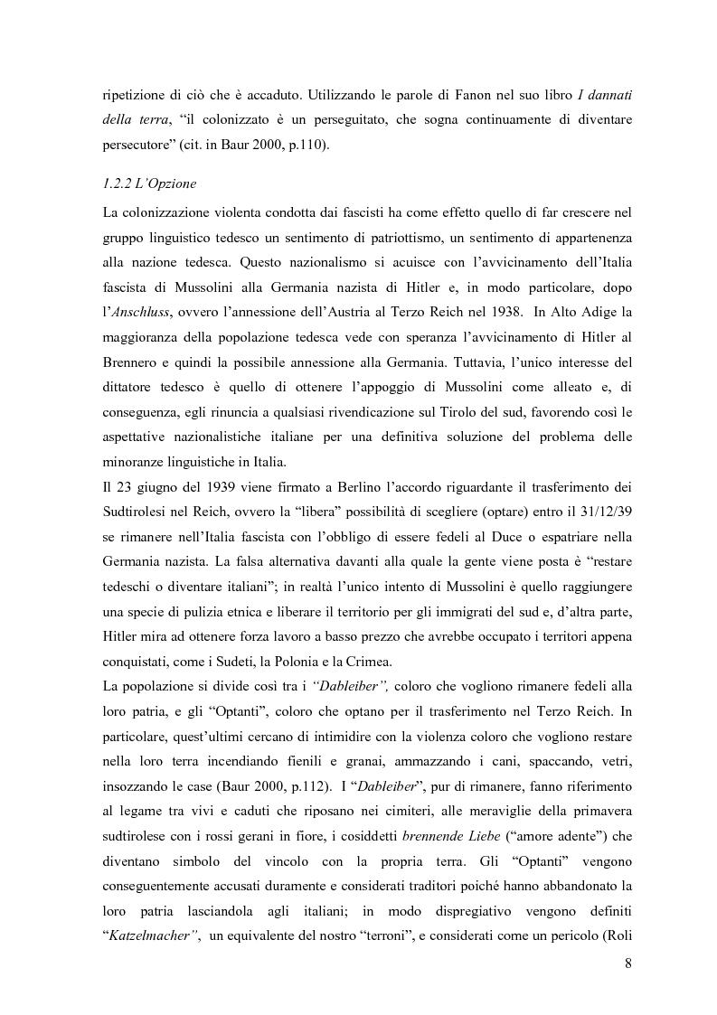Anteprima della tesi: Lingua e identità. Il caso altoatesino., Pagina 7