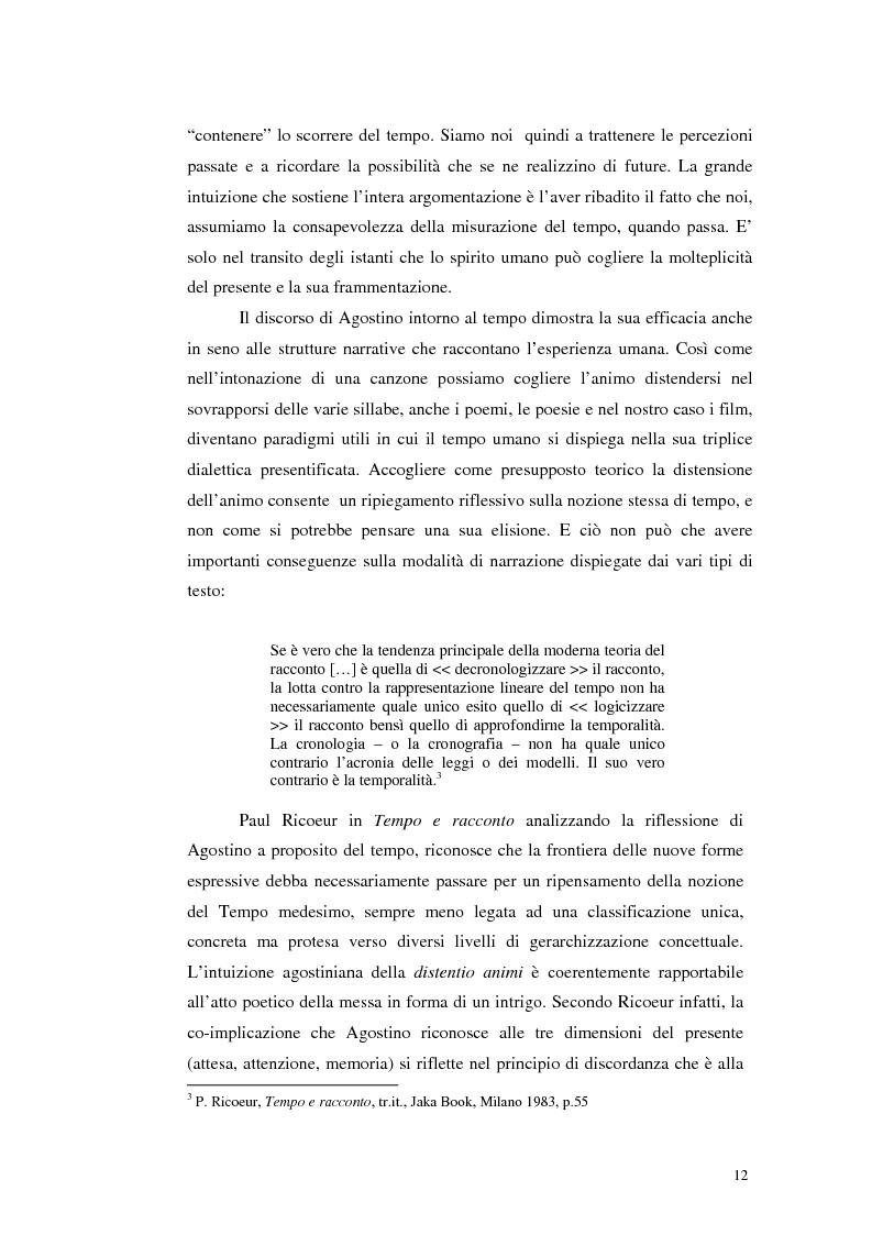 Anteprima della tesi: Il tempo nel cinema orientale contemporaneo, Pagina 10