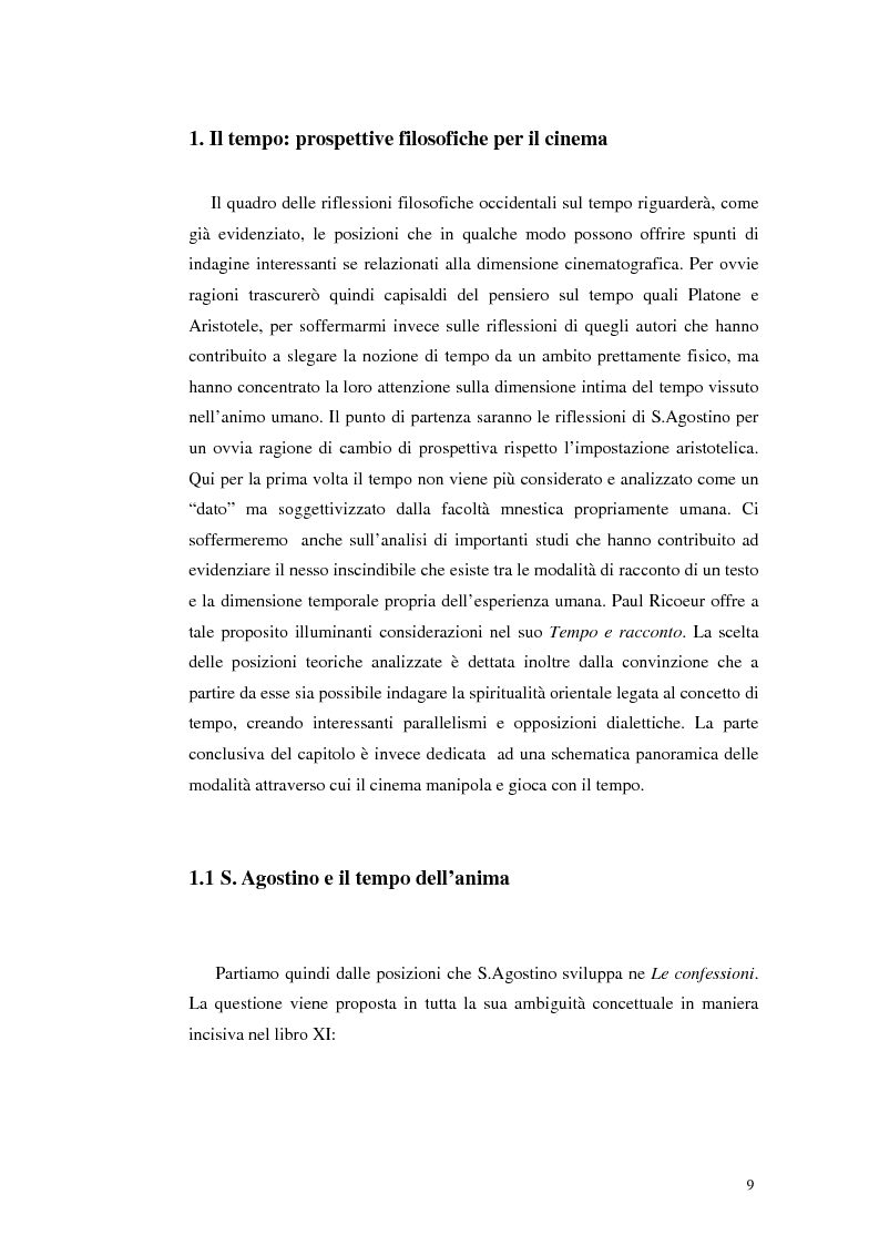 Anteprima della tesi: Il tempo nel cinema orientale contemporaneo, Pagina 7