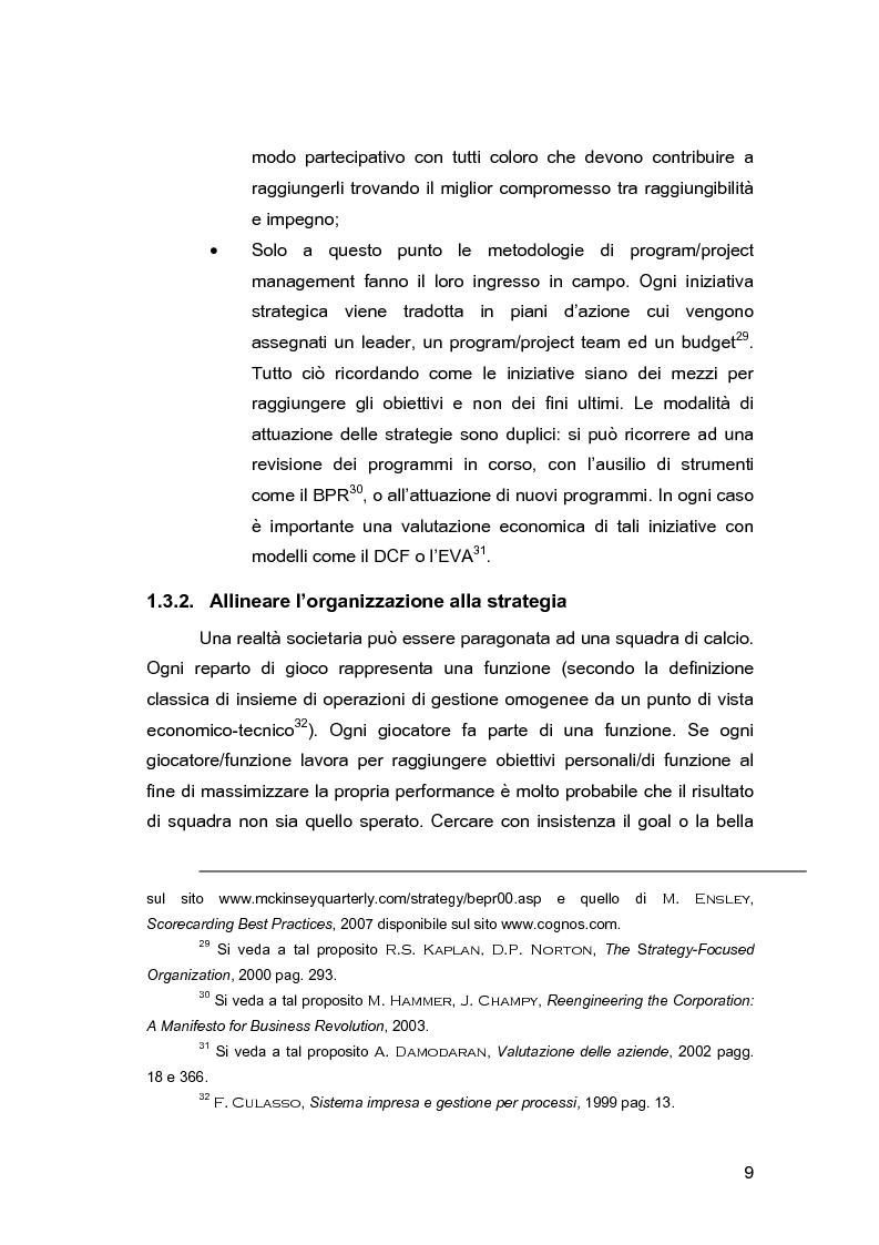 Anteprima della tesi: Pianificazione e controllo strategico nelle aziende multi-servizio: il caso Iride, Pagina 11