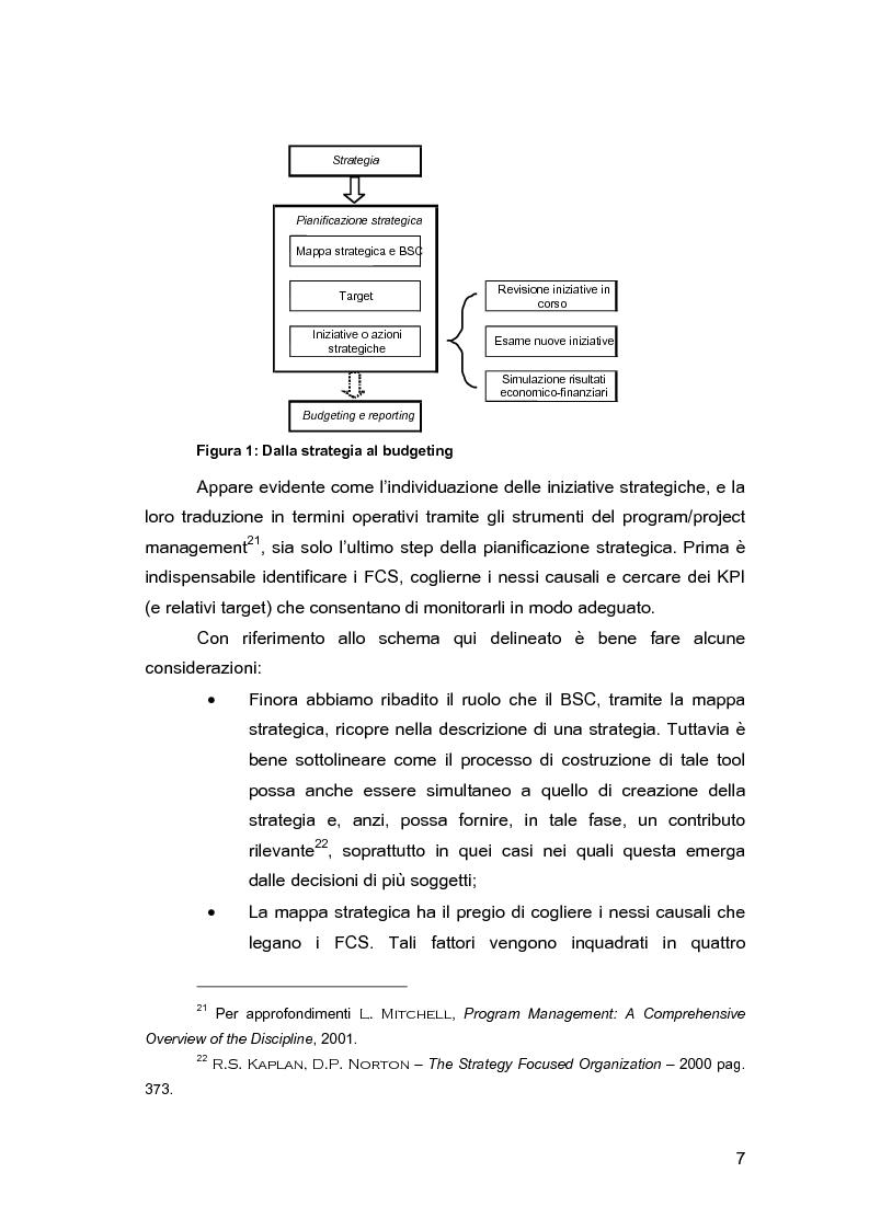 Anteprima della tesi: Pianificazione e controllo strategico nelle aziende multi-servizio: il caso Iride, Pagina 9