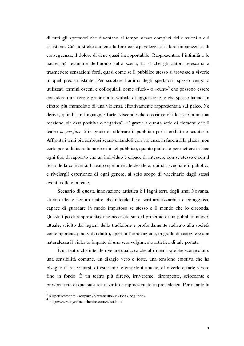 Anteprima della tesi: La società contemporanea inglese in Closer di Patrick Marber, Pagina 2