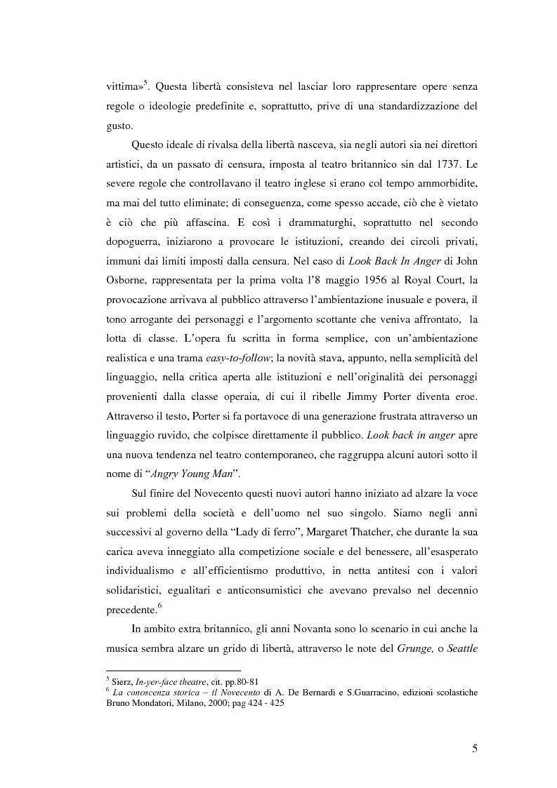 Anteprima della tesi: La società contemporanea inglese in Closer di Patrick Marber, Pagina 4