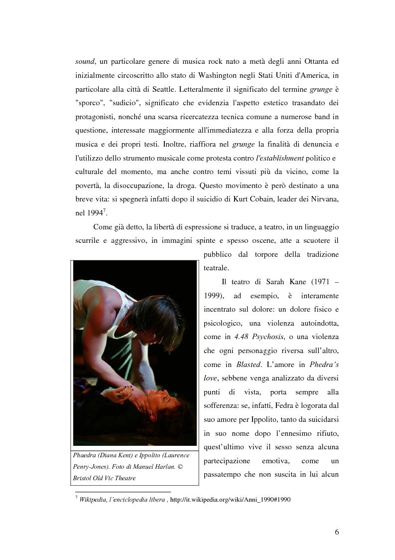 Anteprima della tesi: La società contemporanea inglese in Closer di Patrick Marber, Pagina 5