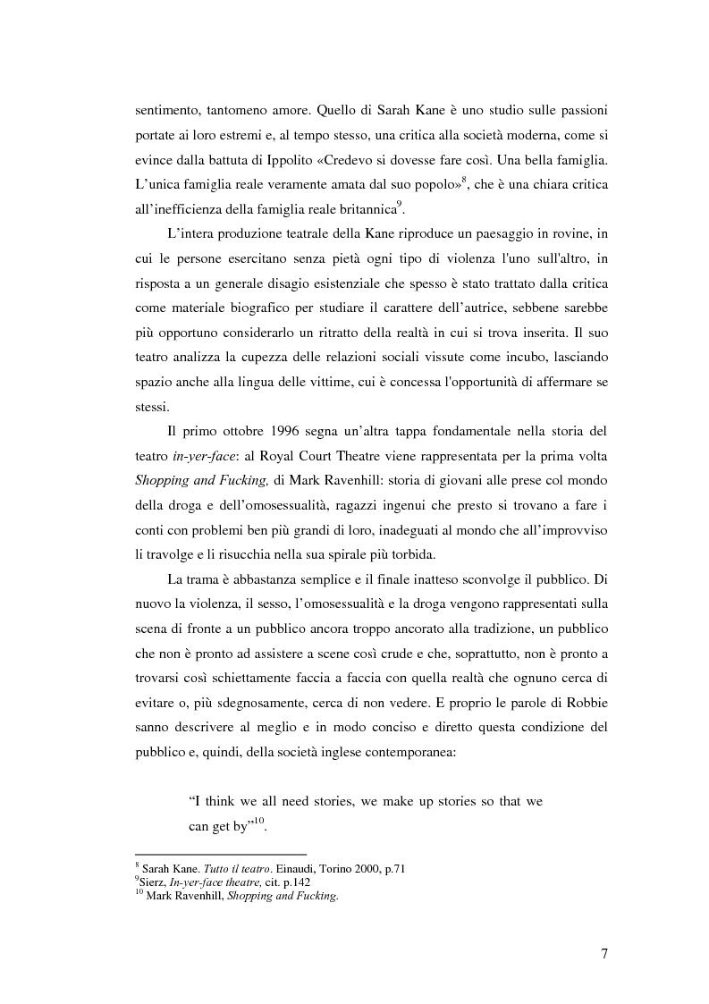 Anteprima della tesi: La società contemporanea inglese in Closer di Patrick Marber, Pagina 6