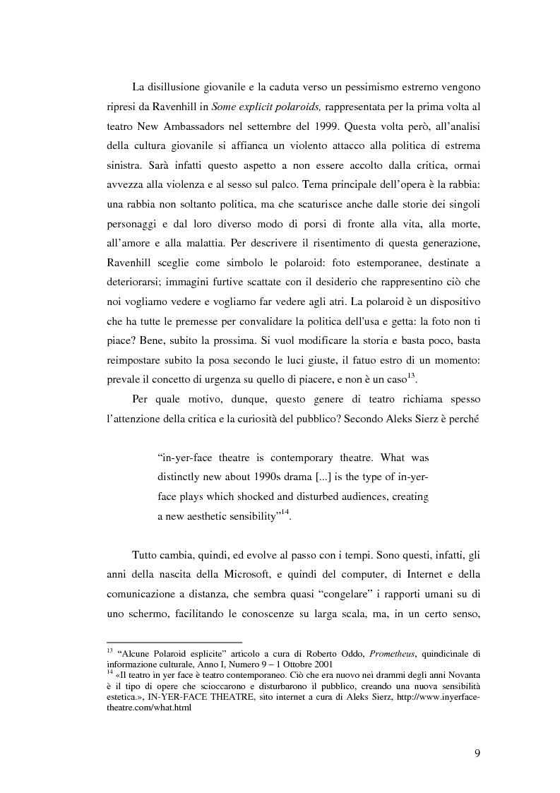 Anteprima della tesi: La società contemporanea inglese in Closer di Patrick Marber, Pagina 8