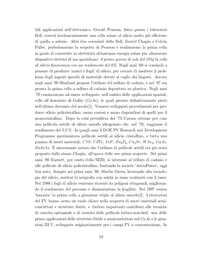 Anteprima della tesi: Celle solari ad alta efficienza in GaAs per applicazioni spaziali, Pagina 3