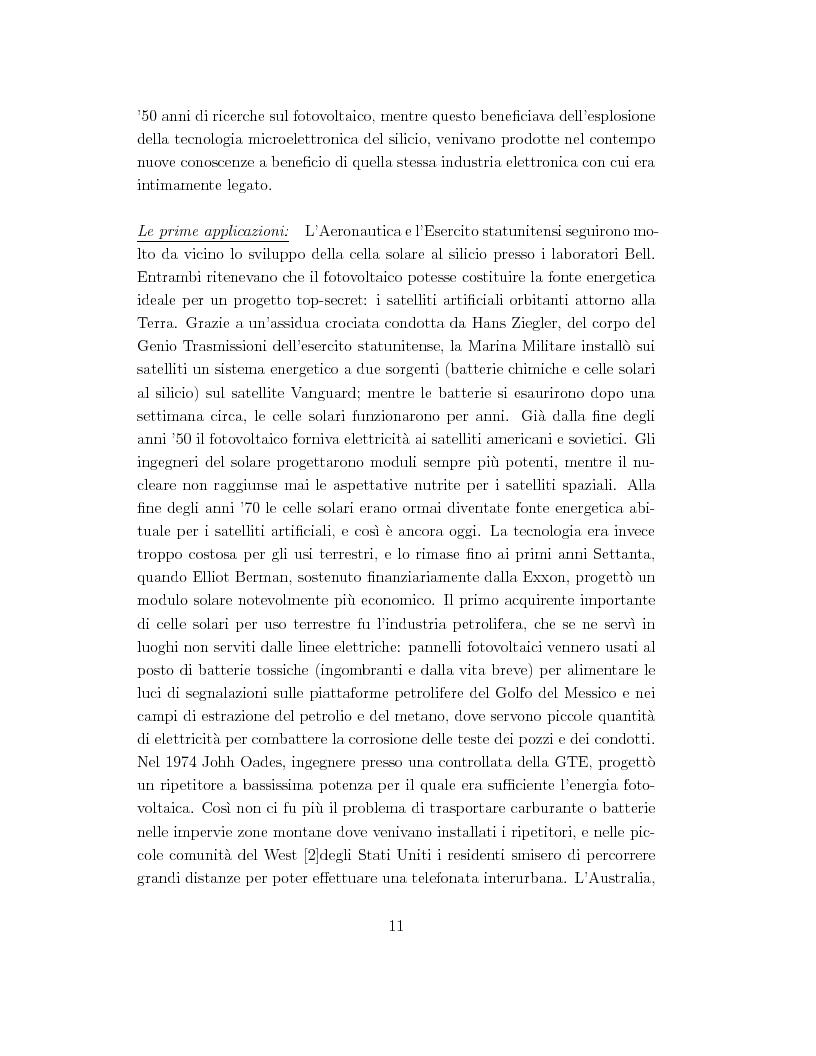 Anteprima della tesi: Celle solari ad alta efficienza in GaAs per applicazioni spaziali, Pagina 4