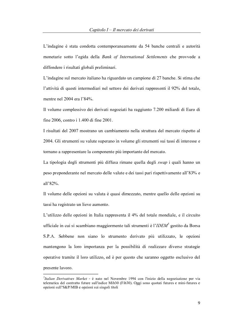 Anteprima della tesi: Il pricing delle opzioni: implicazioni operative del modello di Heston, Pagina 9
