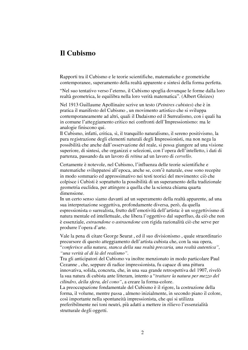 Anteprima della tesi: Le influenze dei movimenti artistici nella pubblicità, Pagina 2