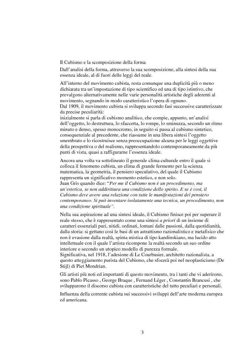 Anteprima della tesi: Le influenze dei movimenti artistici nella pubblicità, Pagina 3