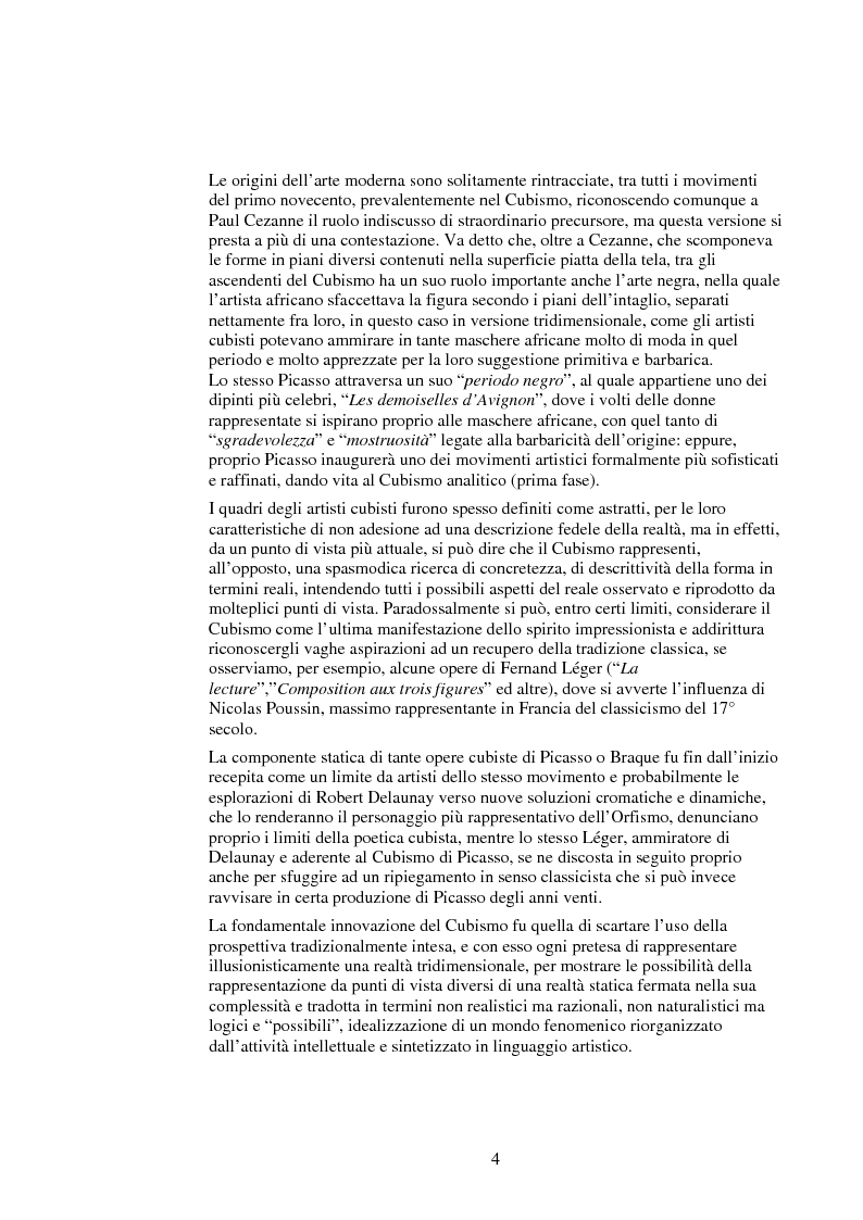 Anteprima della tesi: Le influenze dei movimenti artistici nella pubblicità, Pagina 4