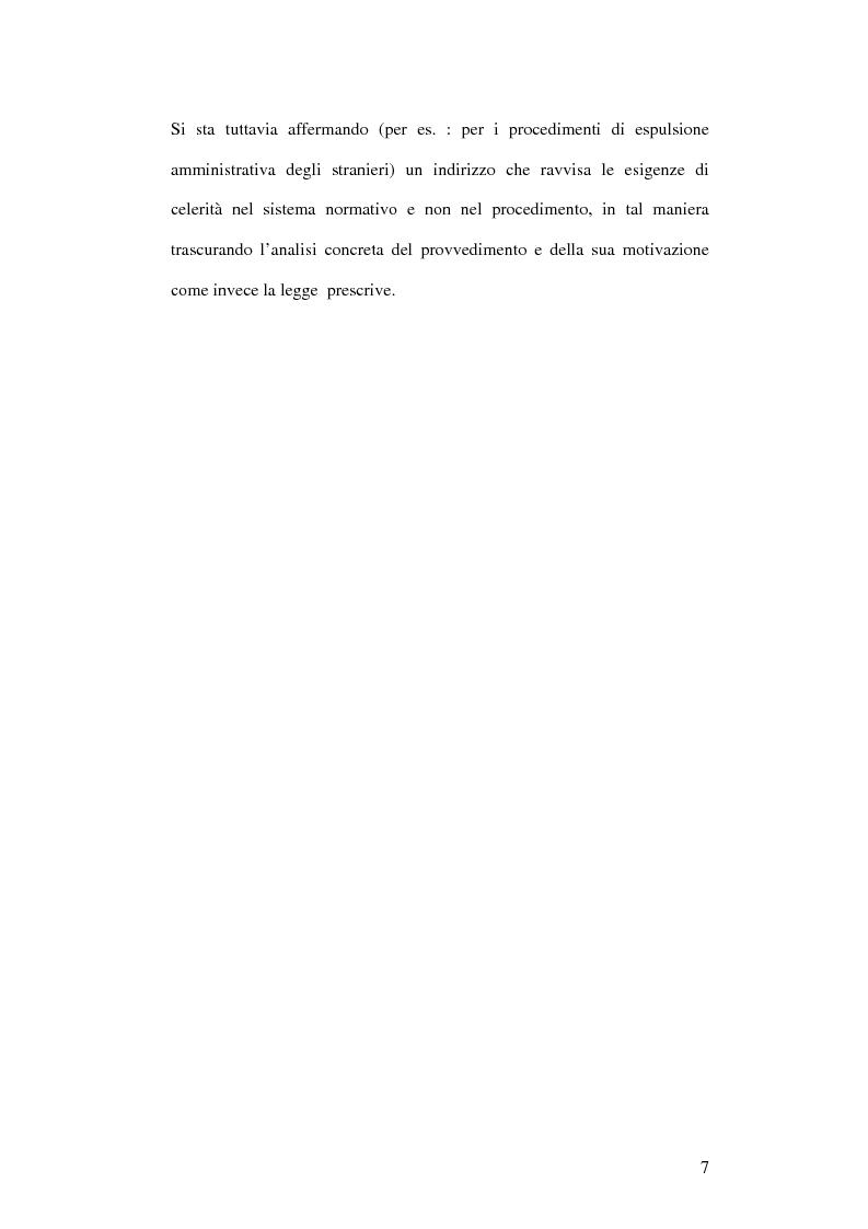 Anteprima della tesi: La partecipazione al procedimento amministrativo, Pagina 5