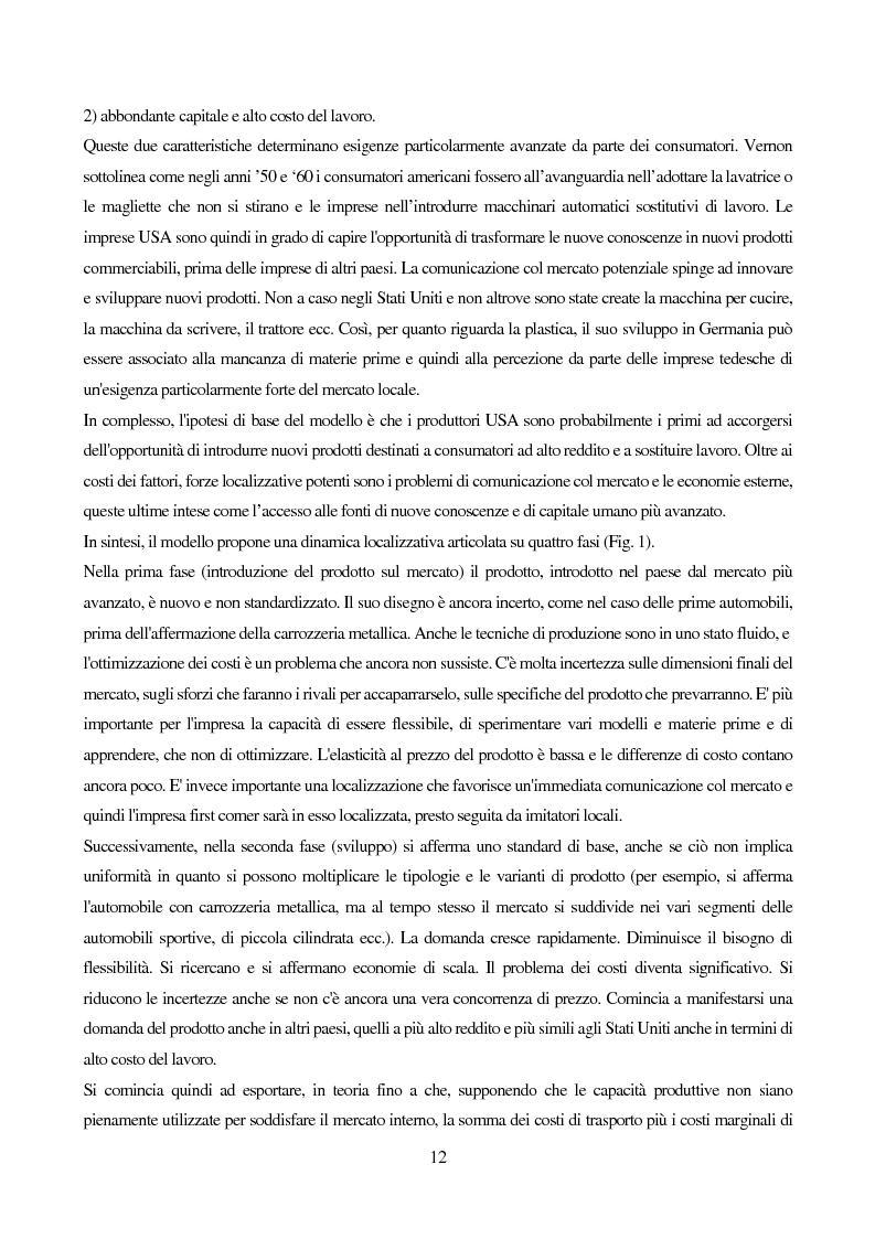 Anteprima della tesi: Le strategie di internazionalizzazione: il licensing in PH&T, Pagina 10